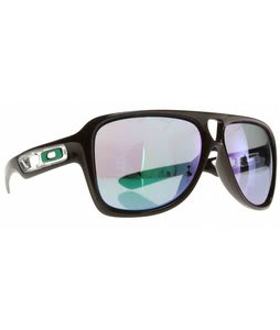 Oakley Dispatch II Sunglasses Polished Black/Jade Iridium Lens