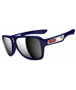 Oakley Dispatch II Sunglasses Polished Navy/Chrome Iridium Lens