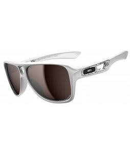 Oakley Dispatch II Sunglasses Polished White/OO Black Iridium Polarized Lens