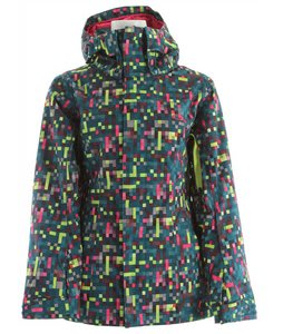 Oakley Fit Insulated Snowboard Jacket Lightning Green