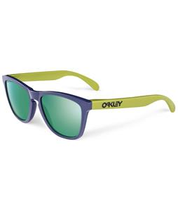 Oakley Frogskins Aquatique Sunglasses Coast/Emerald Iridium Lens