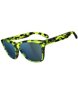 Oakley Frogskins Sunglasses Acid Tortoise Green/Emerald Lens
