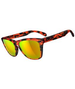 Oakley Frogskins Sunglasses Acid Tortoise Orange/Fire Lens