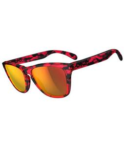 Oakley Frogskins Sunglasses Acid Tortoise Pink/Ruby Lens