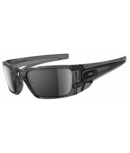 Oakley Fuel Cell Sunglasses Grey Smoke/Black Iridium Lens