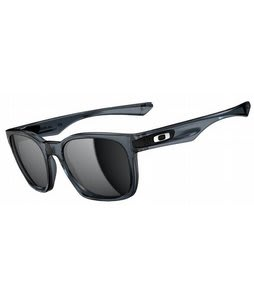 Oakley Garage Rock Sunglasses Crystal Black/Black Iridium Lens