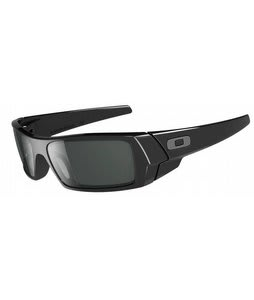 Oakley Gascan Sunglasses Polished Black/Grey Lens