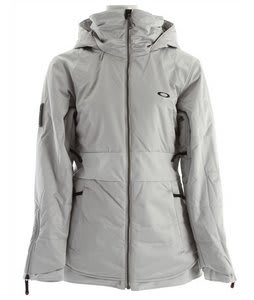 Oakley Gb Insulated Snowboard Jacket Light Grey