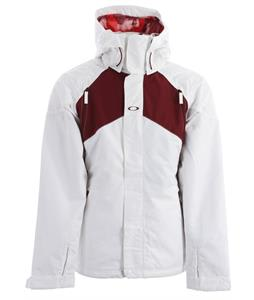 Oakley Goods Insulated Snowboard Jacket White