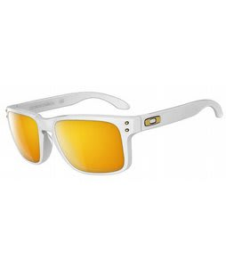 Oakley Holbrook Shaun White Sunglasses Polished White/24K Iridium Lens