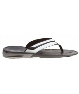 Oakley Hypercoil Sandals White/Black