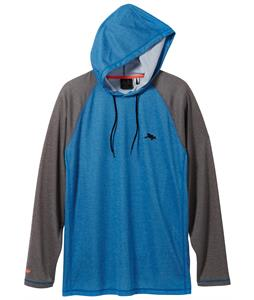 Oakley Jupiter Sun Hoodie Rashguard Electric Blue
