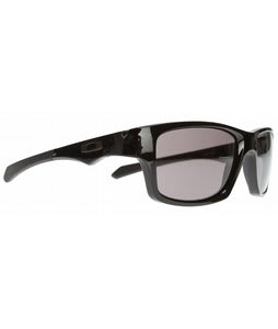 Oakley Jupiter Squared Sunglasses Polished Black/Warm Grey Lens