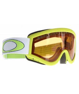 Oakley L Frame Goggles Lightning Green/Persimmon Lens
