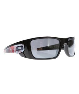 Oakley London Fuel Cell Sunglasses Polished Black/Black Iridium Lens