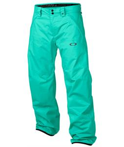 Oakley Mission Snowboard Pants Mint Leaf