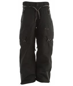 Oakley Motility Snowboard Pants Jet Black