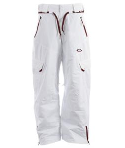 Oakley Motility Snowboard Pants White