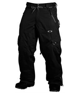 Oakley Motility Snowboard Pants Jet Black