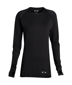 Oakley Moving Baselayer Top Jet Black