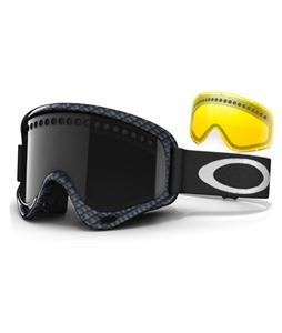 Oakley O Frame Snowboard Goggles Carbon Fiber Print/Dark Grey/Persimmon Lens
