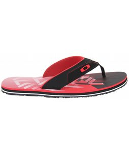 Oakley O Strap Sandals Black/Red