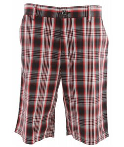 Oakley Plaid Short Redline
