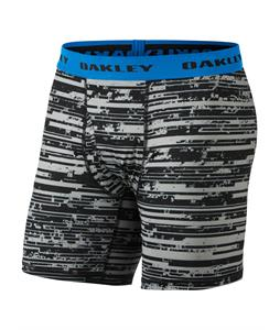 Oakley Printed PE Boxers Jet Black