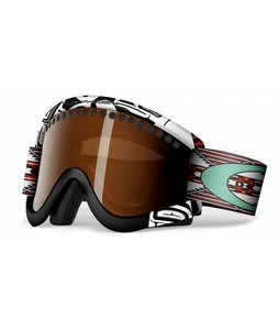 Oakley Pro Frame Goggles Danny Kass Peace Pipe/Black Iridium Lens