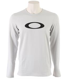 Oakley Rykkinn Baselayer Top Crystal Gray