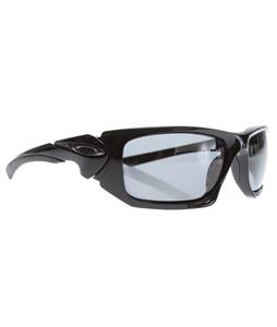 Oakley Scalpel Sunglasses Polished Black/Grey Polarized Lens