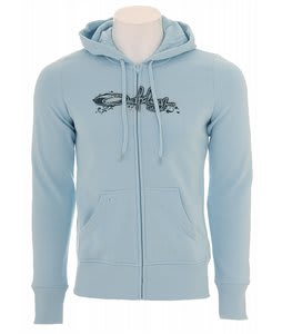 Oakley Script Ivy Hoodie Blue Haze