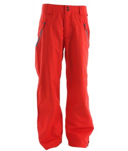 Oakley Shelf Life Snowboard Pants Red Line