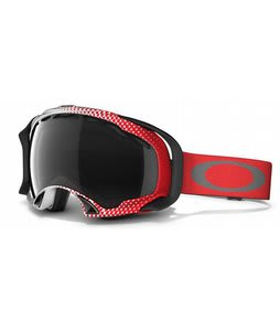 Oakley Splice Goggles Half Tone Red-White/Dark Grey Lens