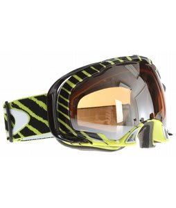 Oakley Splice Goggles Shaun White Highlight Enamel Mint/Black Iridium Lens