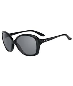 Oakley Sweet Spot Sunglasses Polished Black/Grey Lens