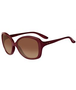 Oakley Sweet Spot Sunglasses Vino/Dark Brown Gradient Lens