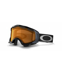 Oakley Twisted Goggles Jet Black/Persimmon Lens