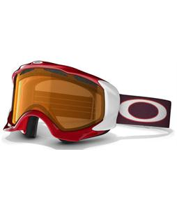 Oakley Twisted Snowboard Goggles Red Rhone/Persimmon Lens