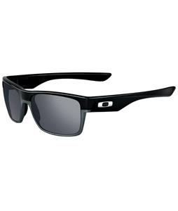 Oakley Twoface Sunglasses Polished Black/Black Iridium Lens