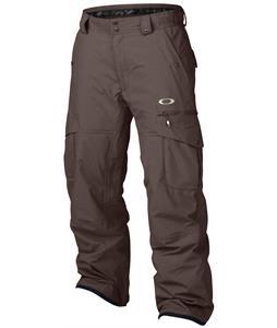 Oakley Westend Snowboard Pants Dark Sienna