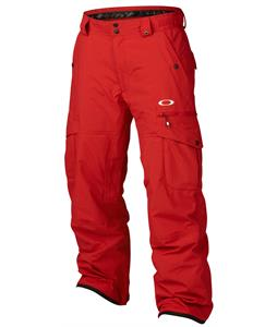 Oakley Westend Snowboard Pants New Crimson