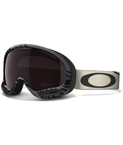 Oakley A Frame 2.0 Goggles Animalistic Black White/Dark Grey Lens