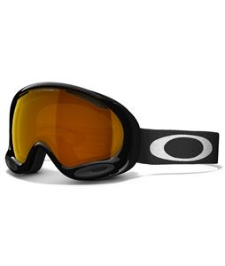 Oakley A Frame 2.0 Goggles Jet Black/Persimmon Lens