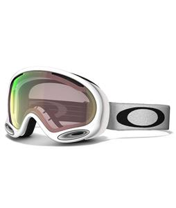 Oakley A Frame 2.0 Goggles Polished White/Vr50 Pink Iridium Lens