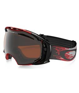Oakley Airbrake Goggles Hyperdrive Red/Black/Black Iridium And Persimmon Lens