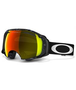 Oakley Airbrake Goggles Shaun White Future Primitive Anthem Black/Fire Iridium And Dark Grey Lens
