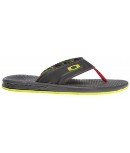 Oakley Airlift Sandals Black/Red
