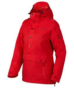 Oakley Alfa Biozone Pullover Snowboard Jacket Red Line