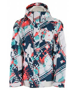 Oakley Amplier Snowboard Jacket White Hound